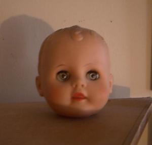 Decapitated dolls head