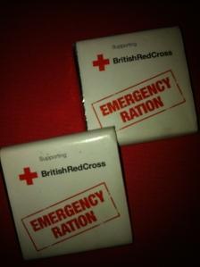 Brisitsh Red Cross Chocolate Ration