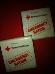 Brisitsh Red Cross Chocolate Ration