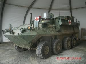Canadian Forces Bison Ambulance