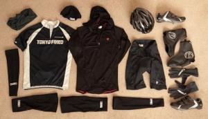 Black bike kit
